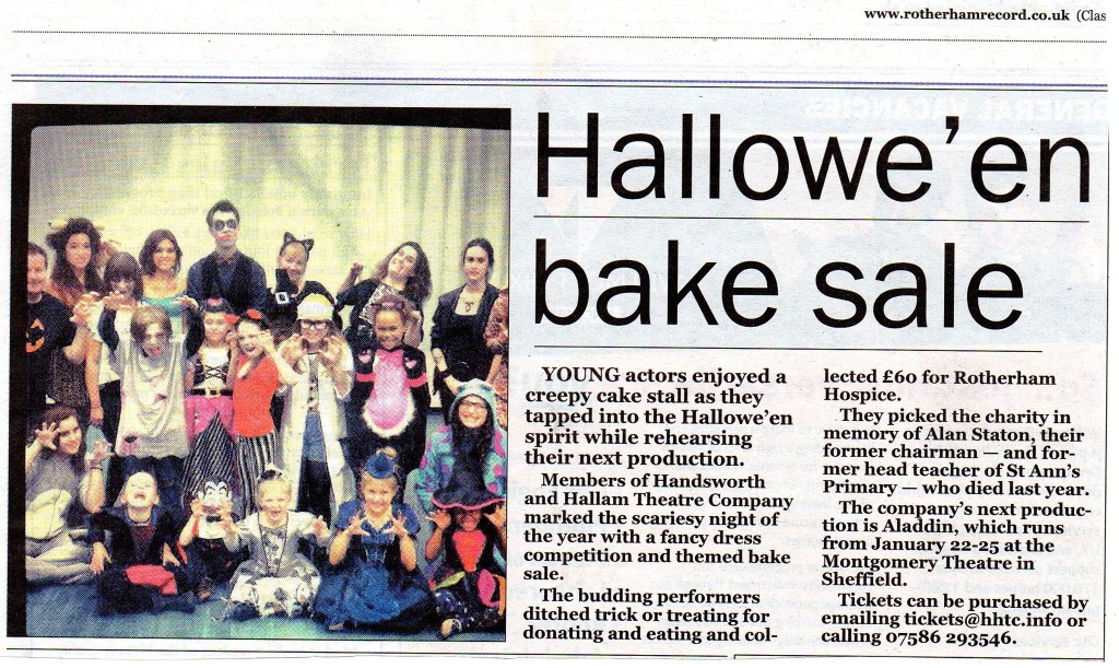 From The Rotherham Record, November 2013
